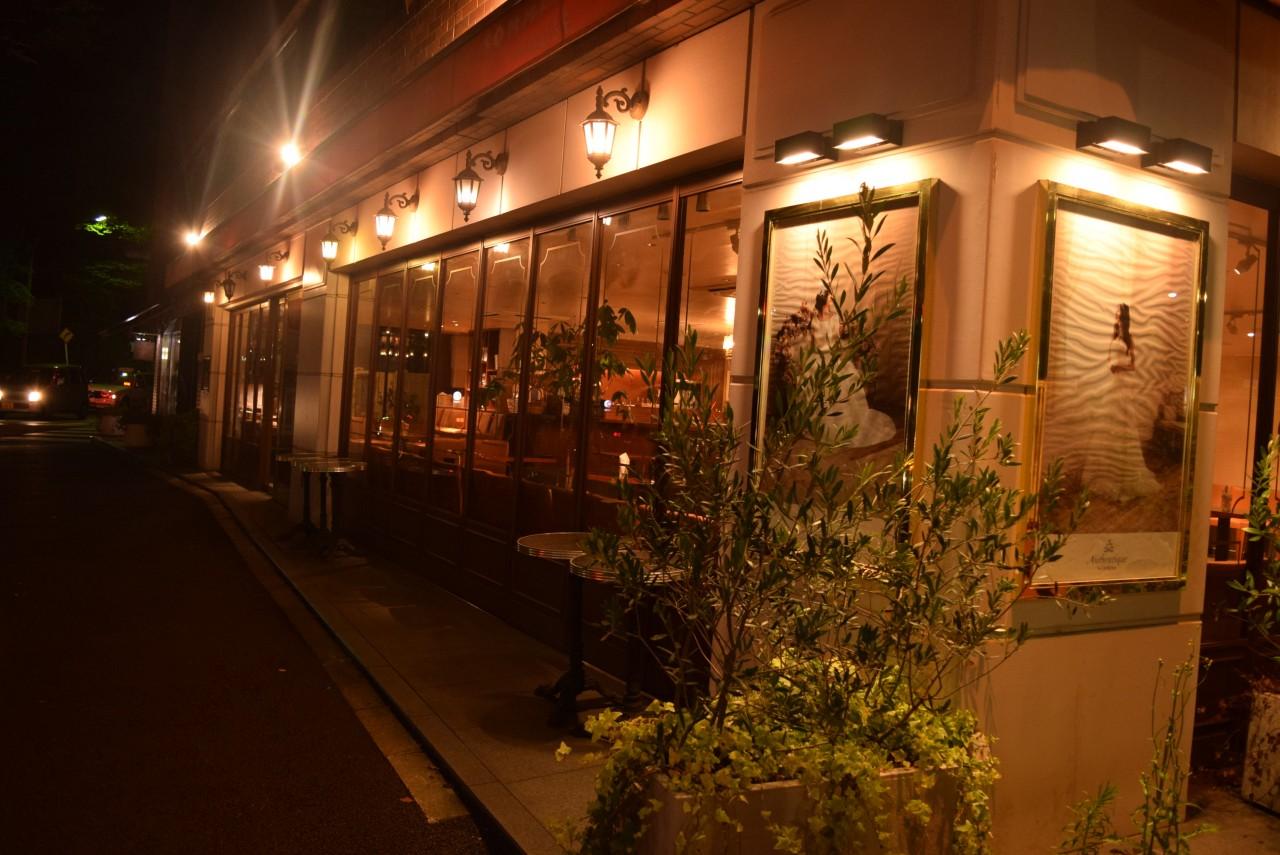 カフェ 夜