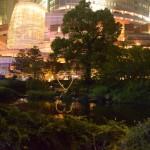 六本木ヒルズ 毛利庭園の夜景の画像
