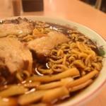 富津市 ラーメン梅乃家|真っ黒なスープの竹岡式を喰らう