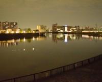北千住散歩|夜の隅田川あたりはなにげに味わい深い
